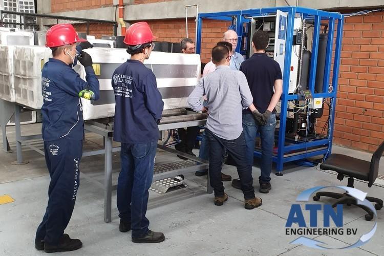 ATN Engineering installed two small degassing machines in Colombia.